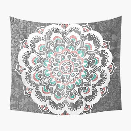 Arctic Mandala Tapestry
