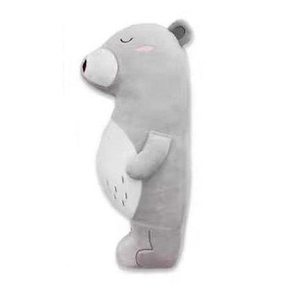 Seatbelt Pillow Pet - Grey Bear