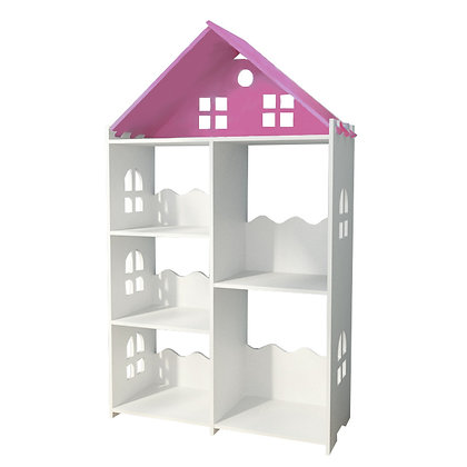 Pink Castle Bookcase