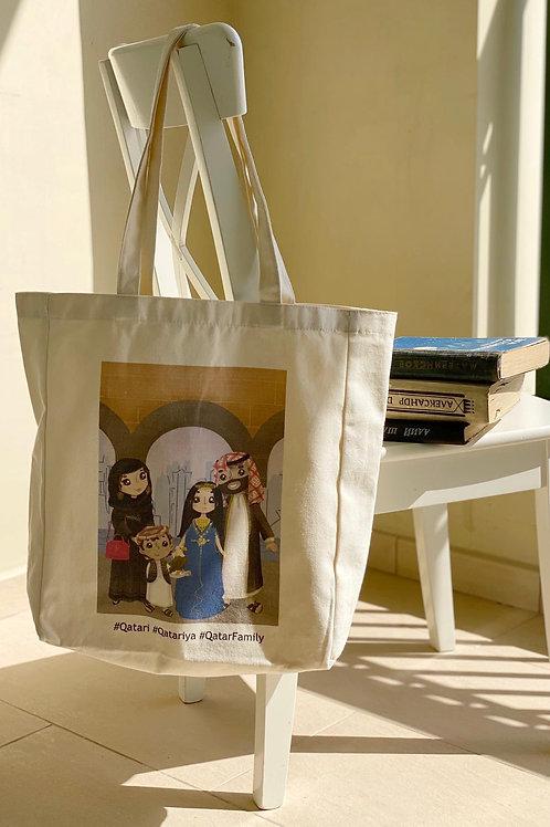 Qatar Family Tote Bag