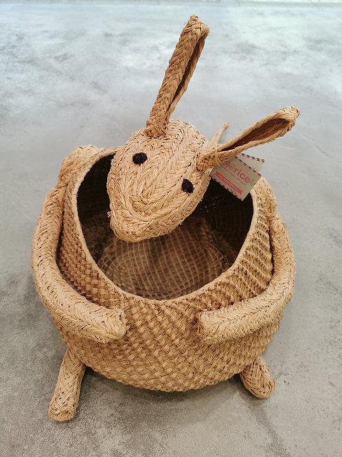 Kangaroo Wooven Shaped Hamper Basket