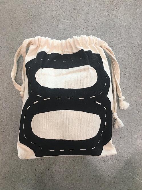 Car Track Fabric Bag - Small - 25x27cm