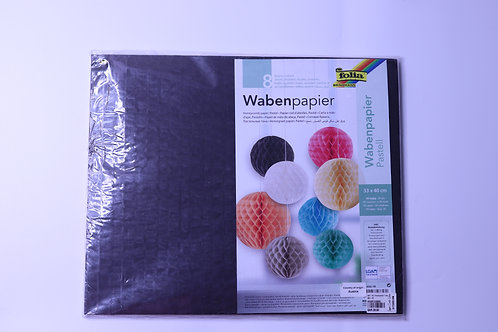 Honeycomb Tissue Pastel Decoration - Size: 33x40cm