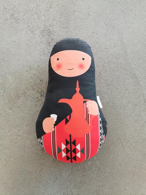 Ommi Doll Lady With Karak - Large