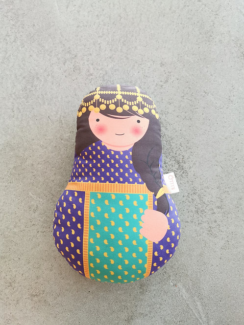 Ommi Doll Lady In Traditional Garangao Dress - Medium