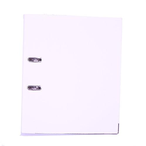 White Ring Binder File Folder - A4