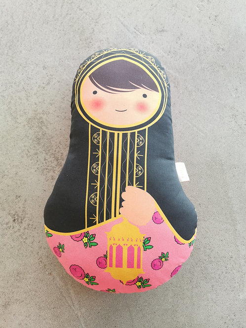 Ommi Doll Lady With Lantern - Large