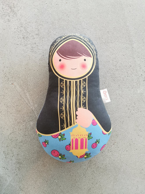 Ommi Doll Lady With Lantern - Medium