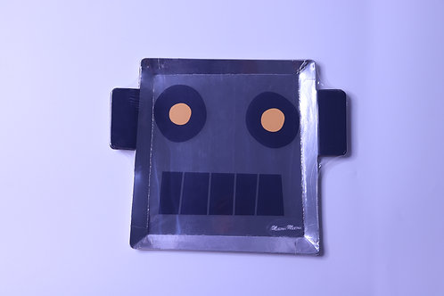 Robot Party Plates - 8 Plates