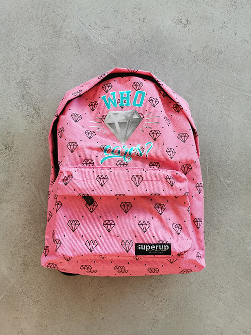 Who Cares Sports Backpack - Size: 30x45x15cm