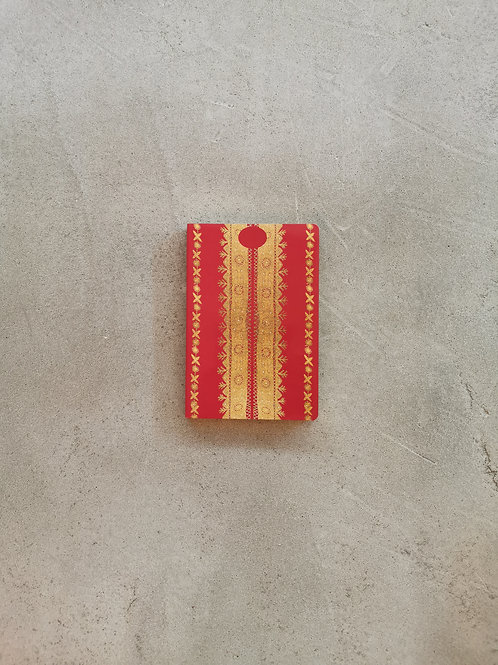 Nashi Red Notebook - A5 Lined Pages