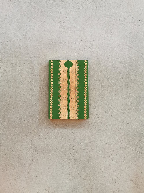 Nashi Thobe Green Notebook - A5 Lined Pages