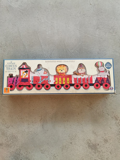 Vintage Circus Train