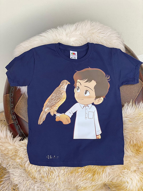 Navy Falcon T-Shirt