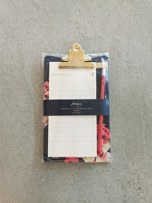 To Do List Notepad With Pencil & Clipboard- A5