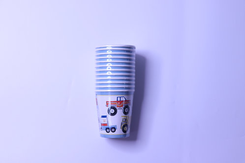 Big Rig Party Cups - 12 Cups
