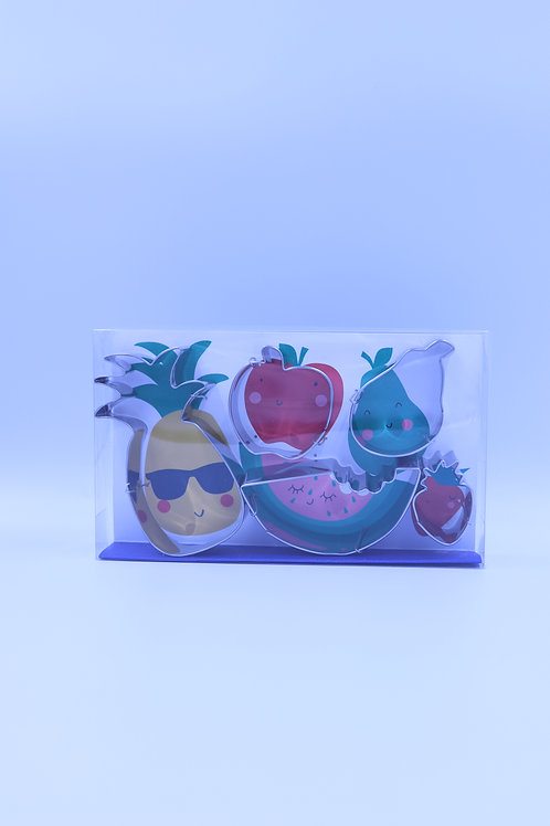 Tropical Fruit Cookie Cutters
