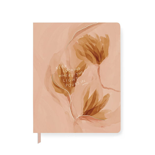 Light A5 Lined Journal -208 Pages