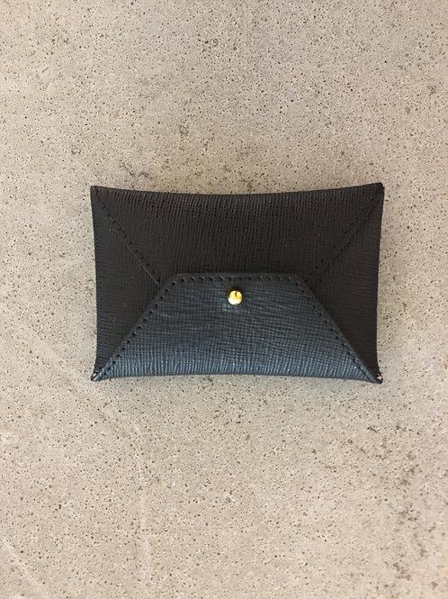 leather Card Holder -Black