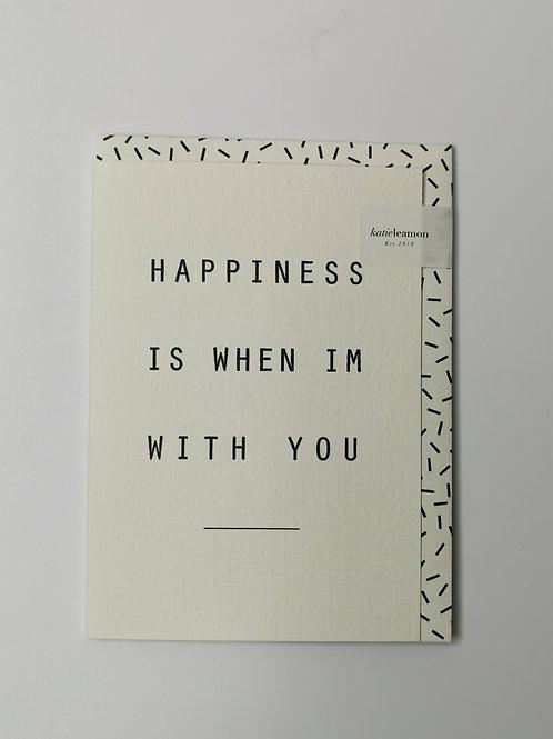 Happiness- Blank Inside