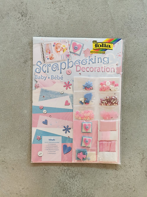 Baby Scrapbooking Set