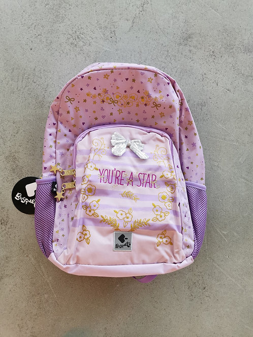 You're A Star School Backpack - Size: 30x45x15cm