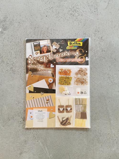 Chocolate Scrapbooking Set