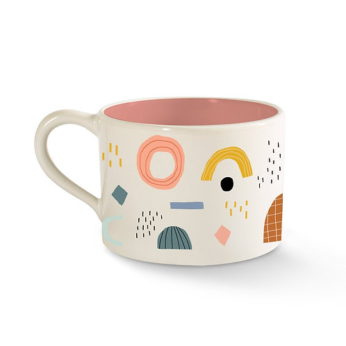 Shapes Pattern Cute Mug