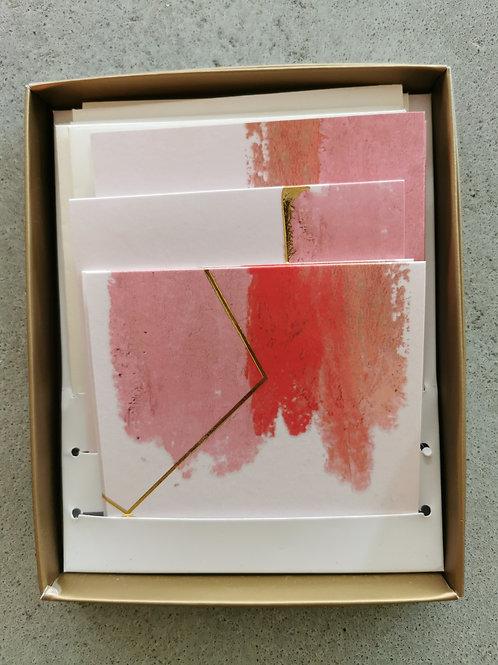 Pink Burst Watercolor