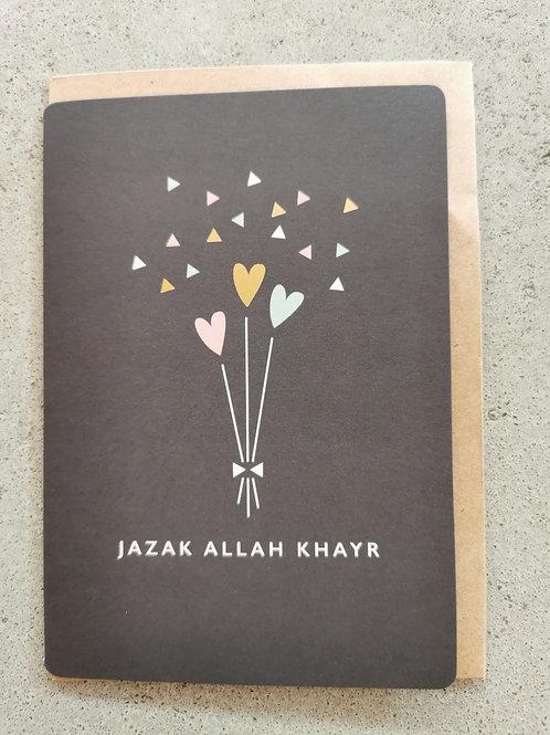 Jazak Allah Khayr