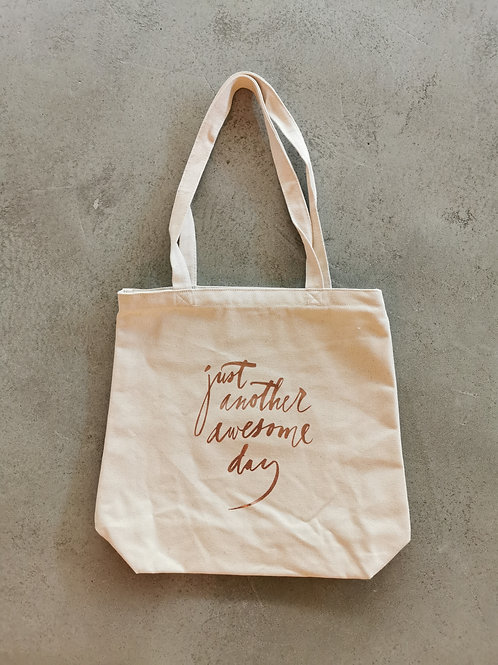 Brush Awesome Canvas Tote Bag