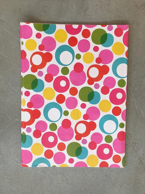 Multi Color Bubbles Wrapping Paper - 50x70cm