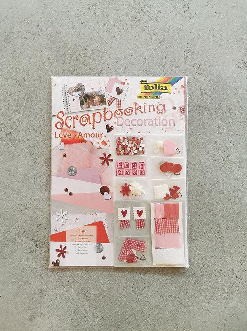 Love Scrapbooking Set