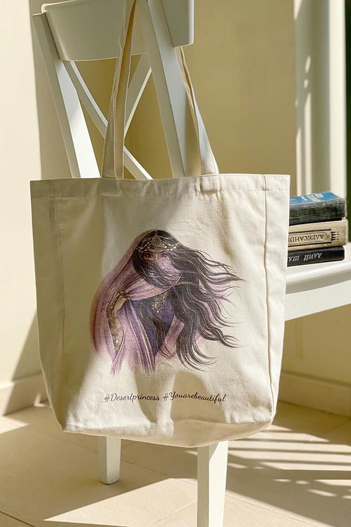 Desert Princess Tote Bag