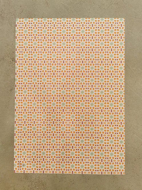 Arabesque Wrapping Paper - 50X70CM