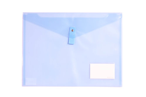 Turquoise  Plastic Document File - A4