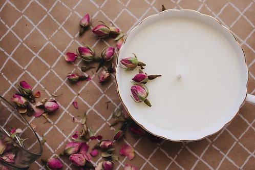 Plumeria, Vanilla Scented Candle