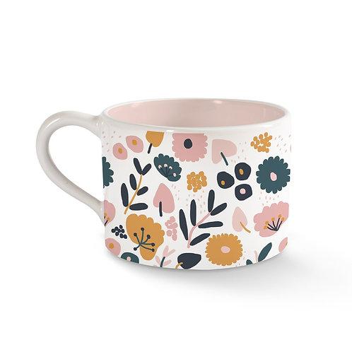 Floral Pattern Cute Mug