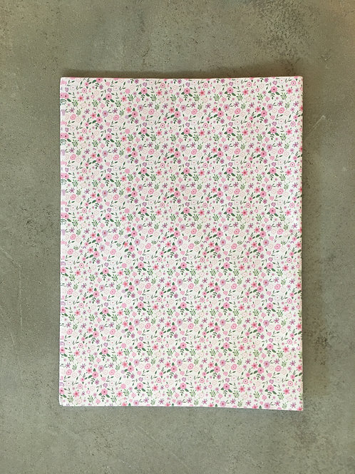 Pink Floral Breeze Wrapping Paper - 50x70cm
