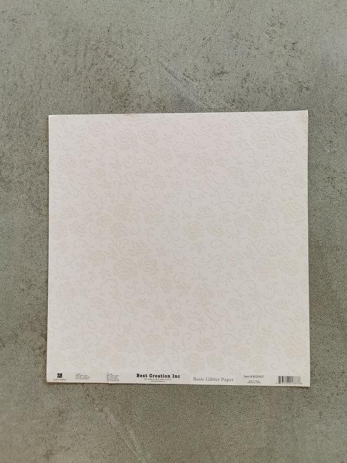 Love Letters Basic Glitter Paper