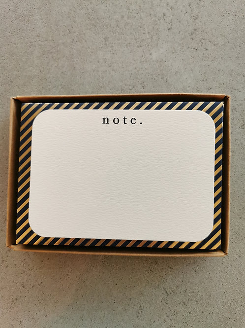 Note Set Cards