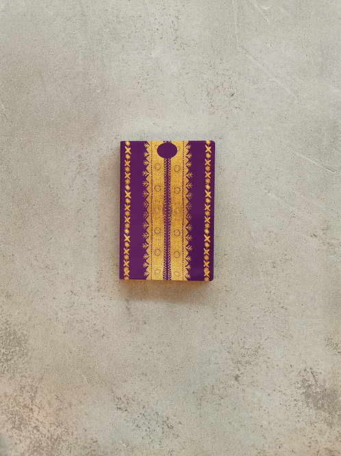 Nashi Purple Notebook - A5 Lined Pages