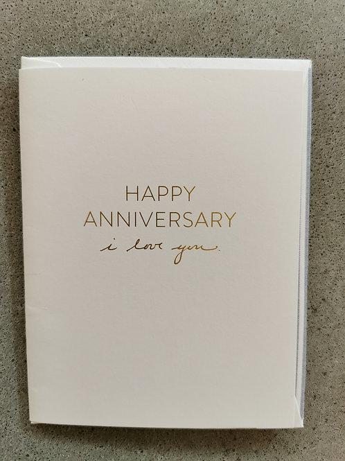 Anniversary I Love You