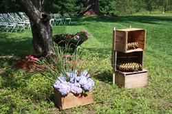 Apple Boxes and Wheelbarrels