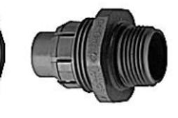 Caron liquid tight connector
