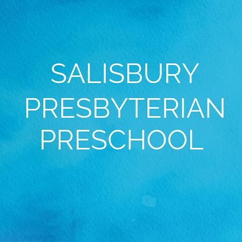 Spring 2020 at Salisbury Presbyterian Preschool