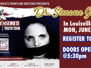 America's Frontline Doctor, Simone Gold Coming to Louisville