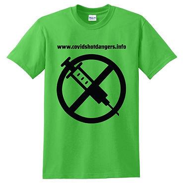 Covid QR code tshirt_Electric Green Front.jpg