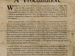 A National Thanksgiving Proclamation