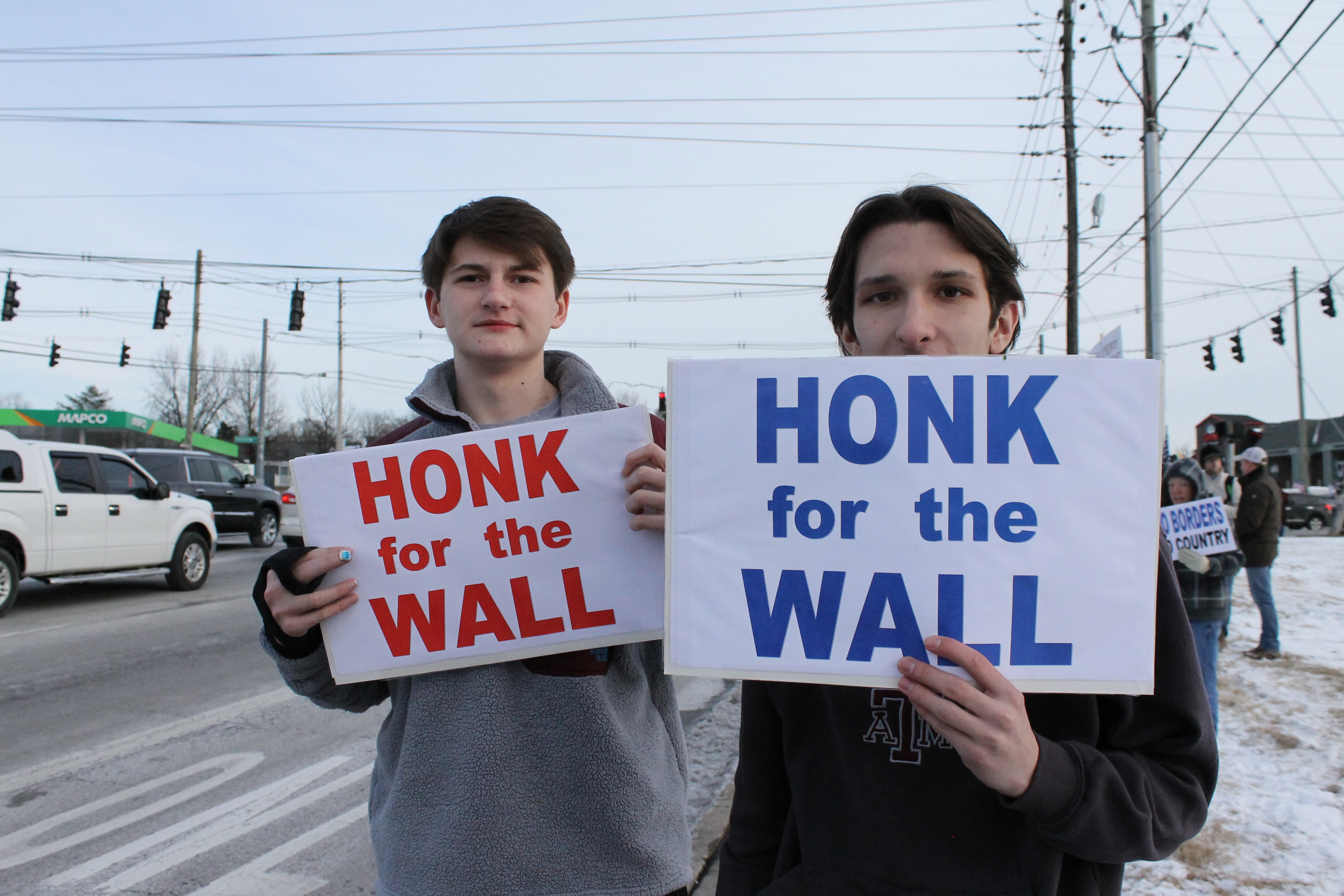 Honk for the Wall